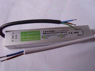 1PC Konstantspannung wasserdichte Stromversorgung LED Treiber 12V 20W 0. 83A