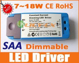 Conducteur LED dimmable 7W à 18W Downlight LED Transformateur de variation Australie SAA CE ROHS VENTE CHAUDE ? partir de fabricateur
