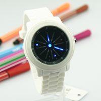 Wholesale Tvg Blue Binary Watch - TVG Shark Blue Binary LED Watch Mens Sport Diving Digital Wrist Watch 2012 NEW 003