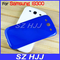 Wholesale Galaxy S3 Replacement Back Cases - Battery Door for Samsung Galaxy S3 SIII i9300 Plastic Skin Back Cover Case Replacement