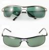 20PCS lot New sunglass for Men`s 8012 Sunglasses 8012 glasses Silver Frame Mirror Lens Sunglasses