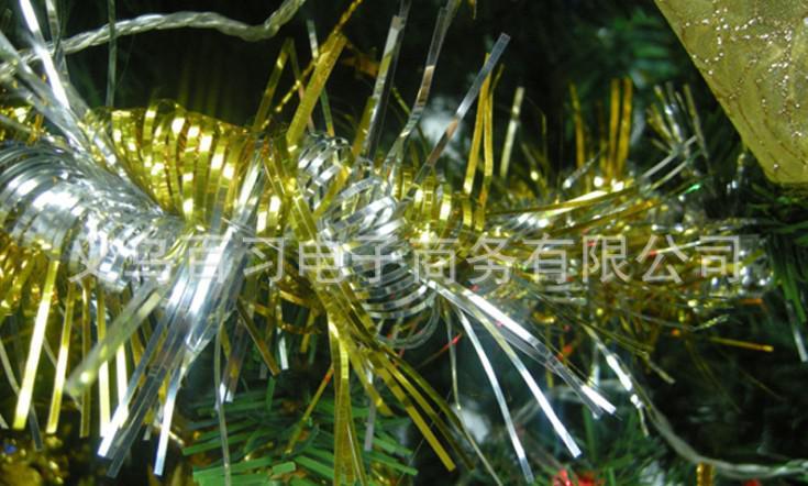 Jul Färgglada Ribbon Garland Banner Party Weeding Home Christmas Tree Decoration Ornaments Pendants Xmas Present