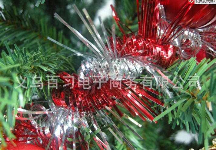 クリスマスのカラフルなリボンガーランドバナーパーティー雑草ホームクリスマスツリー装飾飾りペンダントクリスマスギフト