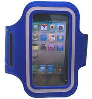Wholesale iphone 5s band case for sale - Group buy 200pcs Sport ArmBand leather Case for apple iphone5 S Solf Belt arm band For iphone5 S