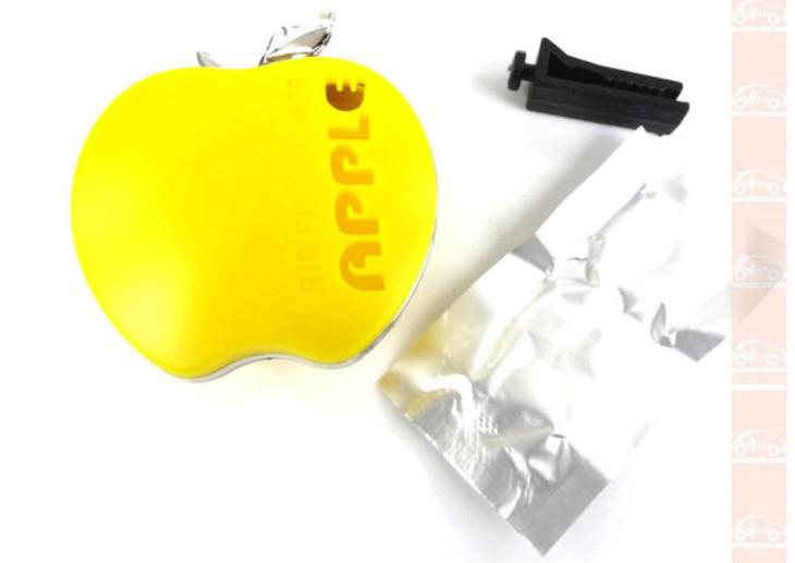 / NOUVEL assainisseur d'air de voiture pour Apple forme 6 * 5 cm Mix couleur assainisseur d'air de voiture de parfum
