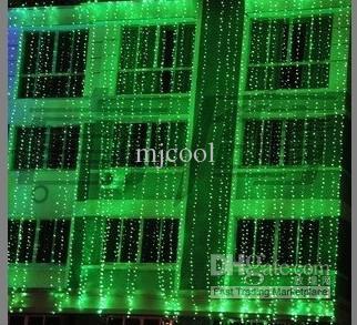 Fête de mariage LED rideau icicle net lumières de Noël à la maison lampes de jardin notre dool led 110v-220v AU UK UE US plug