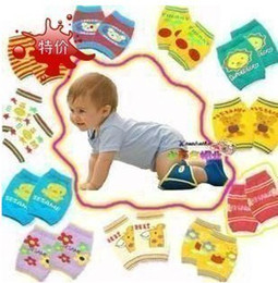 Wholesale Infant Arms - 24 Pairs lot Toddle Baby Arm Leg Warmers Infant Boys Girls crawling knee pads Children legging Socks