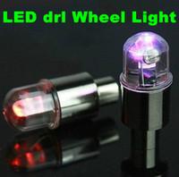 proyección de luz de sombra al por mayor-Drl luz corriente diurna Coche LED drl Luz de la rueda Interior de alta calidadLuces externas para la rueda del coche