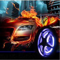 Wholesale 7 Colorful transform Car DRL daytime running LED Light wheellight Interior External Lights for car