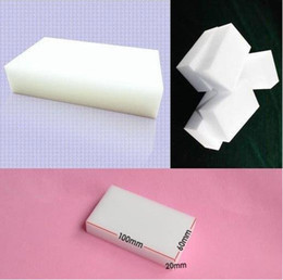 limpiadores de esponja Rebajas Magic Sponge Eraser Melamine Cleaner, esponja multifuncional para limpieza 100x60x20mm 100pcs / lot