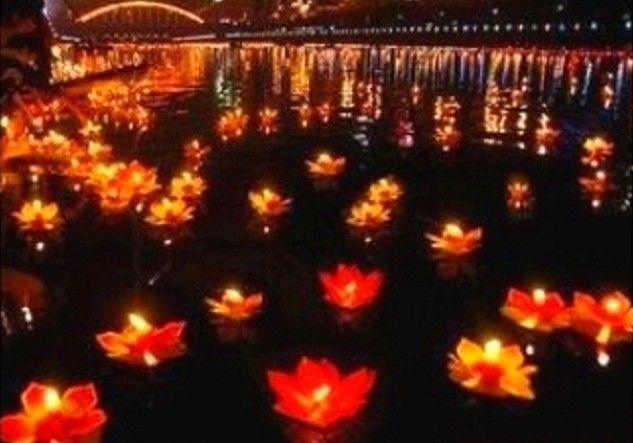 Parti olayı Dekorasyon su ışık mum ışığı yüzen Işık Lambalar Su fenerler dileyerek Yeni varış Lotus çiçeği