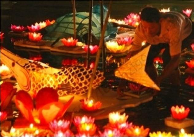 파티 이벤트 장식 물 빛 촛불을 떠 라이트 램프 물 등불을 기원 새로운 도착 연꽃