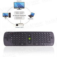 Wholesale Rc11 Air Mouse - Fly air mouse,RC11 2.4G Wireless Fly Air Mouse Keyboard for Google 4.0 MINI PC(150731