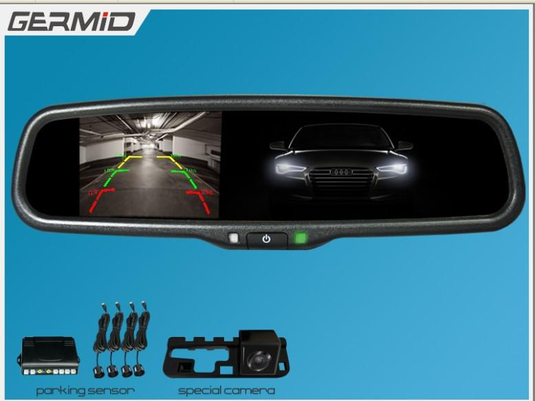 2018 auto dimming 4 3 inch car rear view mirror monitor with hd lcd display compass back camera. Black Bedroom Furniture Sets. Home Design Ideas