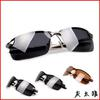 10PCS lot High quality 3043 men`s Sunglasses 3043 polarized sunglass black frame green lens