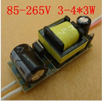 Wholesale 4x3w Led Driver - For E27 GU10 AC 85-265V 4x3w 12W LED Driver Power Supply 10pcs