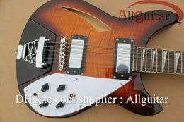 Wholesale Electric 12 String Rick Guitar - 12 strings Rick electric guitar Vintage Sunburst China Guitar