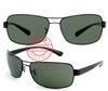 10PCS Free shipping High quality black Frame Green Lens 3379 men`s Sunglasses 3379 sunglass