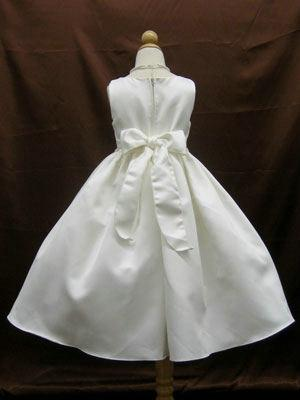 Big didcount! Sparkly Beaded Flower Girl Dress / First Communion Dresses