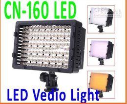 Discount best camcorder cameras Best Selling!CN-160 160 LED Video Camera Light DV Camcorder Photo Lighting 5400K For Canon Nikon,