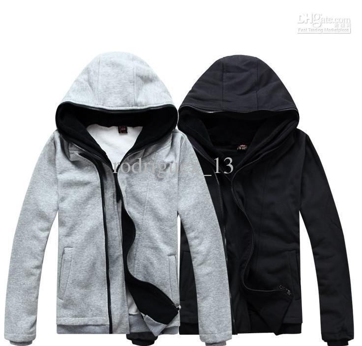 Mode korea män hooded vakt kläder manliga cardigan hoodies herrkläder mode han2 ban3 lock