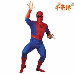 Wholesale Adult Spider Man Costumes - Halloween Adult Spider Man Costume Suit