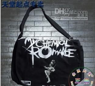 Canvas Shoulder Messenger Bag Band Emo My Chemical Romance