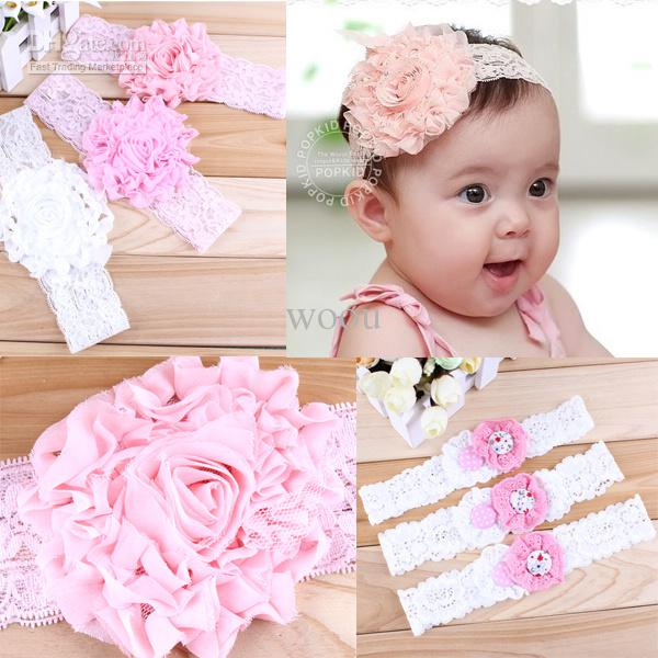 Newborn Bow Headband Baby Headband Cotton Fabric Bow Hb047