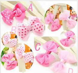 Wholesale black lace ribbon wholesale - Baby ribbon bows with clip,grosgrain hairclips,Hairclips,Girls' hair accessories hairpins 40