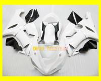 kit de cuerpo blanco kawasaki zx6r al por mayor-Kit de cuerpo de carenado blanco Para KAWASAKI Ninja ZX6R 05 06 ZX-6R 636 Carrocería ZX 6R 2005 2006 6R Conjunto de carenados de motocicleta + regalos