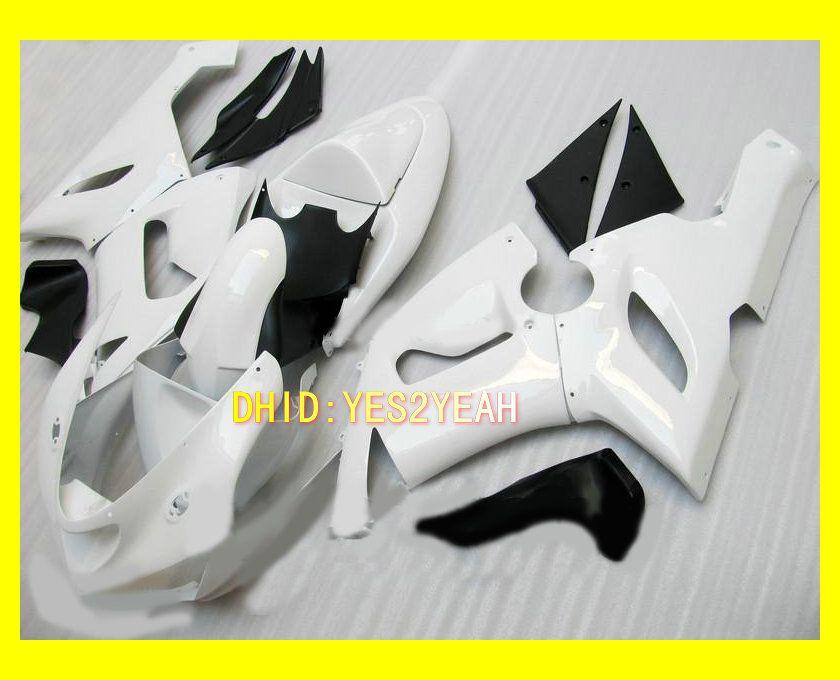 Kit de cuerpo de carenado blanco Para KAWASAKI Ninja ZX6R 05 06 ZX-6R 636 Carrocería ZX 6R 2005 2006 6R Conjunto de carenados de motocicleta + regalos
