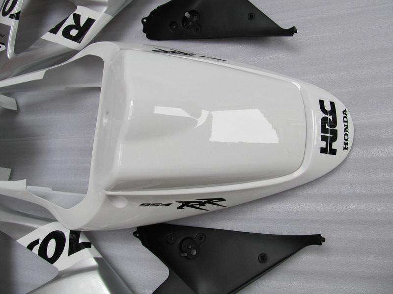 Kit de carenado Repsol plata blanca para Honda CBR900RR 954 CBR CBR954RR CBR954 2002 2003 02 03 carenado de moto