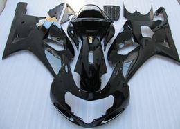 gsxr k1 verkleidungssatz Rabatt Schwarzer ABS Verkleidungssatz für Suzuki GSXR 600 750 K1 2001 2002 2003 GSXR600 GSXR750 01 02 03