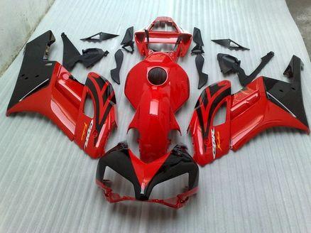 Красный / черный кузов для HONDA обтекатель комплекты CBR1000RR CBR 1000RR 2004 2005 высокое качество литья под давлением обтекатели комплект