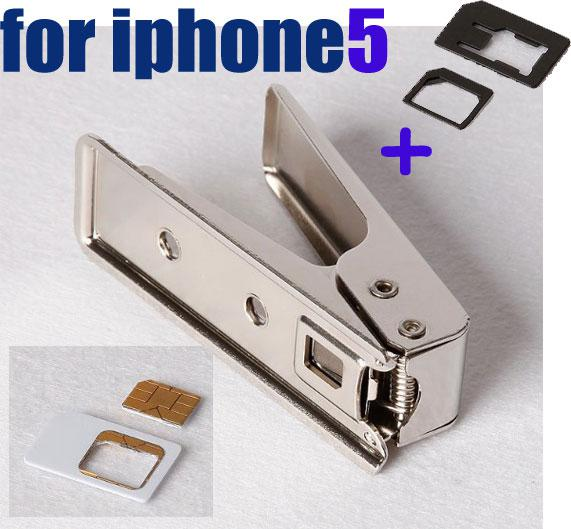 Nano sim card cutter for iphone5 with adapterfull sim to nano nano sim card cutter for iphone5 with adapterfull sim to nano cutter for iphone 5 microsim cutter micro sim card cutter from pro m 30228 dhgate reheart Gallery