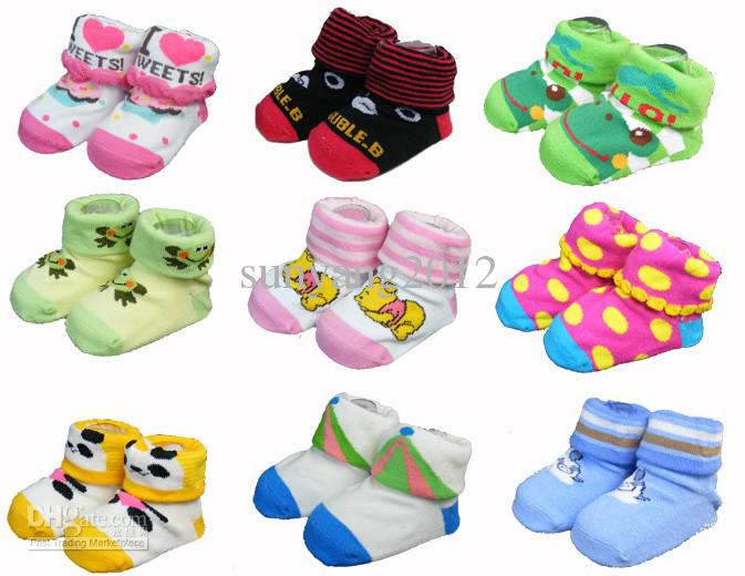 Cartoon Baby Socks Baby Doll Cotton Children Socks ...