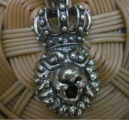 Discount vintage lion pendant - Vintage Style Bronze Rhinestone Crown The Lion King Pendant Necklace women's jewelry