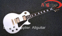Wholesale New Style Electric Guitar - New Style custom shop 1958 Alpine white ebony electric guitar China Guitar