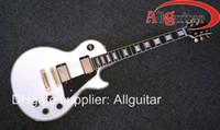 nuevas guitarras de china al por mayor-Nuevo estilo tienda personalizada 1958 Alpine blanco ébano guitarra eléctrica China Guitarra