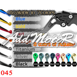Wholesale R6 Clutch Lever - Addmotor Extendable Brake Clutch Lever For YZF-R6 05-09 2005 2006 2007 2008 2009