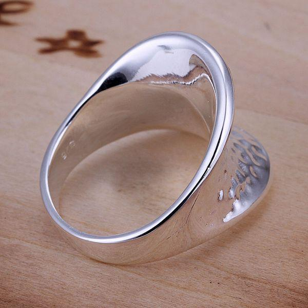 R065 Wholesale 925 Silver Ring Beautiful Designer Costume Finger Nail Ring For Women Fashion 2012 Jewelry