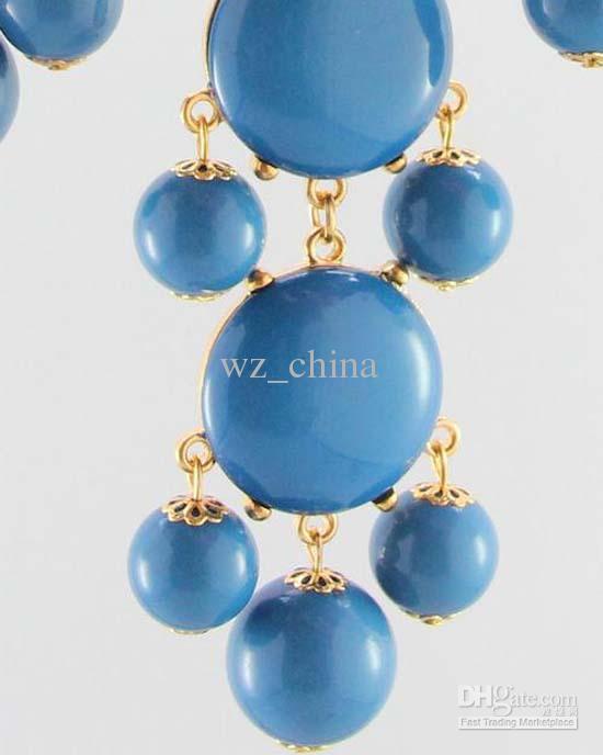 Ny Mode Smycken Försäljning Ny Bubble Bib uttalande Halsband Falsk Collar Halsband