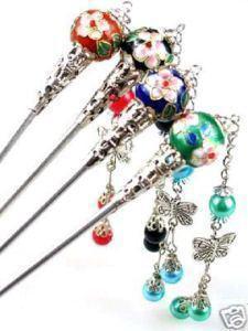 Красивые 4 шт. Китайская ручная палочка ручной работы