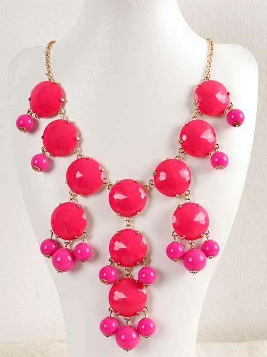 프로 모션 가격 브랜드 새로운 여자 보석 쥬얼리 Bib 문 패션 체인 로즈 목걸이 WZ-SN011 무료 Shiipping
