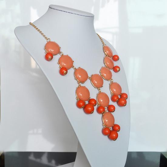 Förderungspreis nagelneue Frauen-Schmucksache-Luftblasen-Schellfisch-Aussage-Art- und Weiseketten-Rosen-Halskette WZ-SN011 Freies Shiipping