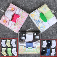 Wholesale Wholesale Red Baby Socks - NWN Newborn Infant toddler gift Sets Baby Gift Kids Sock Baby Socks Layette Sets & Gift Sets