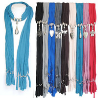 Wholesale jewelry manufacturer pendants - MIXED pendants jewelry scarves yiwu scarf manufacturer women's neckwear fringed polyester tassel scarves in stock free shipping