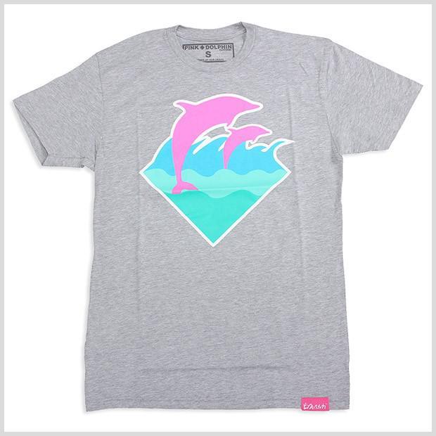 Newest Pink Dolphins T Shirt Grey Clothing Sweatshirt Hoody ...