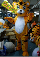 Wholesale Newest Mr Tigerking Animal Mascot Costume Plush Cartoon Character Fancy Custom Products Adult Size