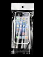 Wholesale Silicone Cellphone Bag - 5000pcs 15x9CM Clear OPP Bag Plastic Package Packaging For Iphone 4 5 5G Cellphone Hard Silicone Case cover